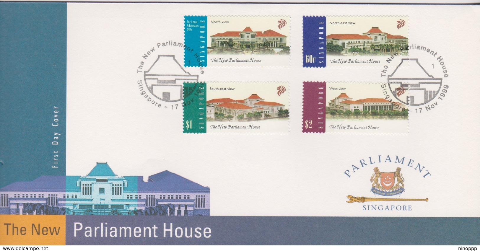 Singapore 1999 New Parliament FDC - Singapore (1959-...)