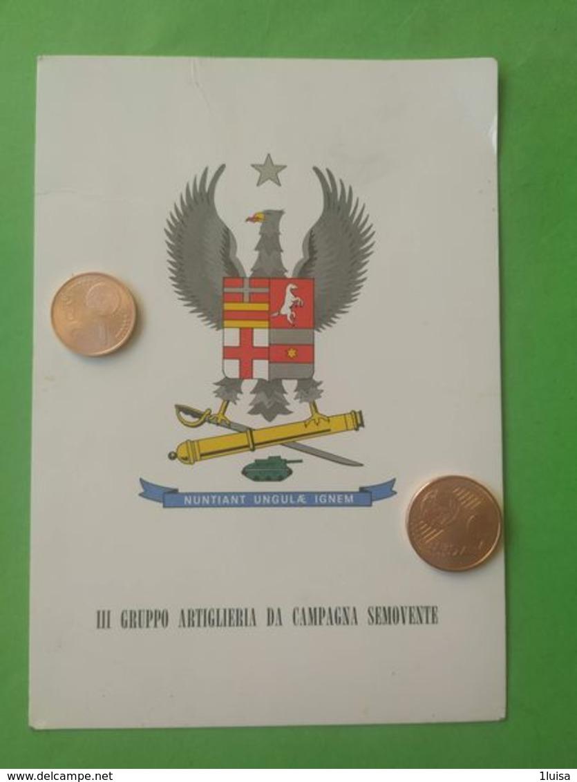 CARRISTI III° Gruppo Artiglieria Da Campagna Semovente - Reggimenti