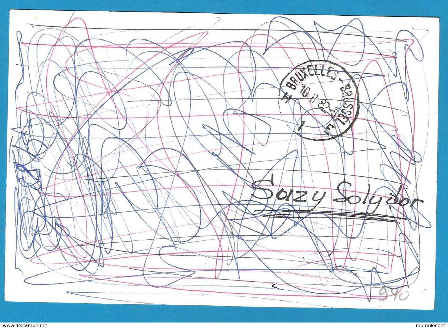 (A940) - Signature / Dédicace / Autographe Original - Susy SOLIDOR - Chanteuse - Autographes