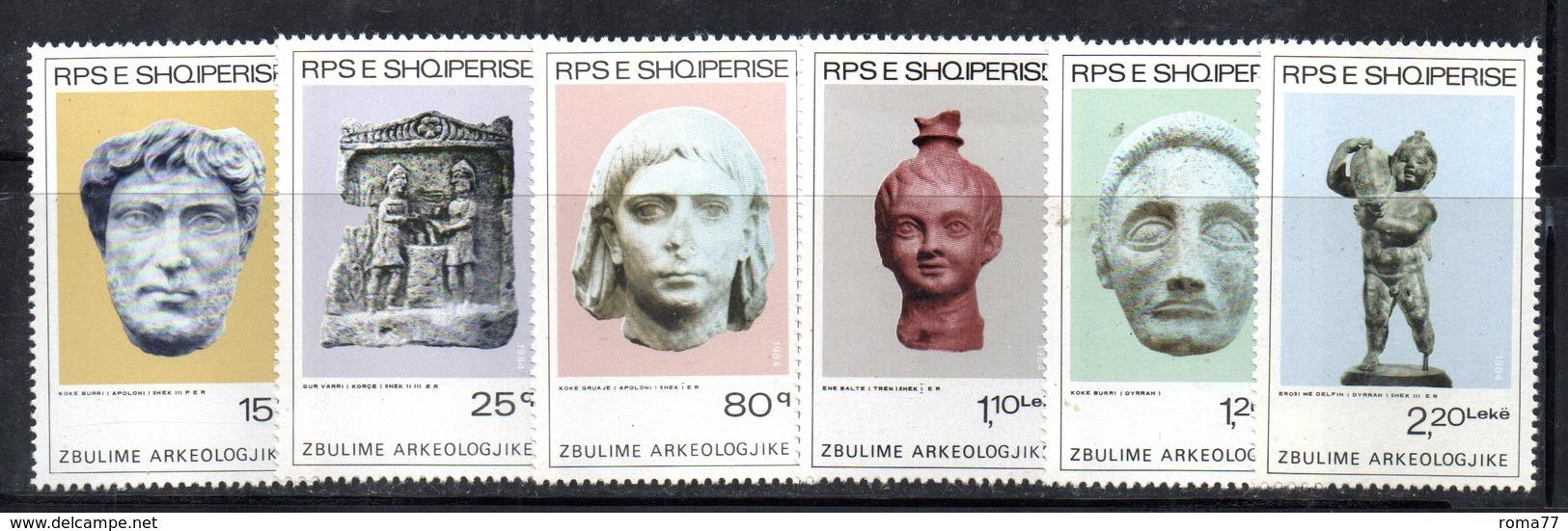 XP3997 - ALBANIA 1984 , Yvert Serie N. 2000/2005  *** - Albania