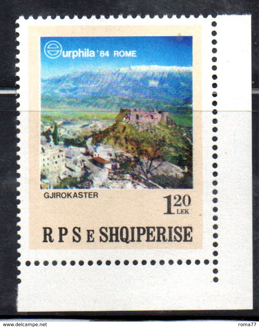 XP3999 - ALBANIA 1984 , Yvert Serie N. 2044  *** Expo - Albania