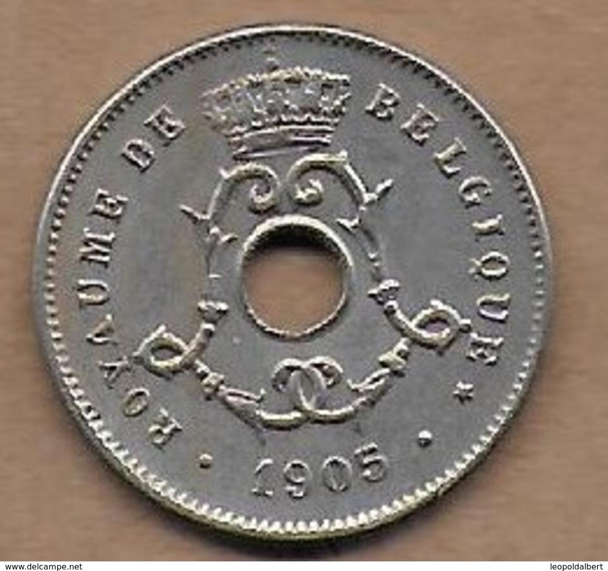 5 Centimes 1905 FR Superbe - 1865-1909: Leopold II