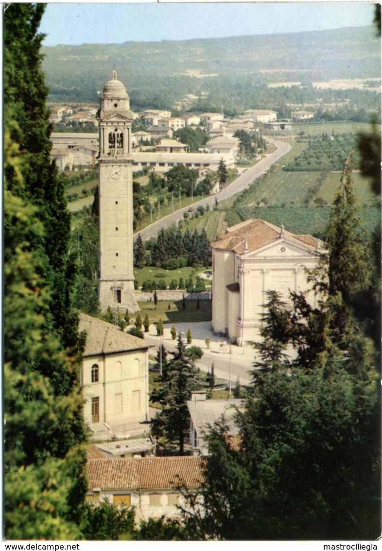 VIDOR  TREVISO  Scorcio Con La Chiesa Verso Il Montello - Treviso