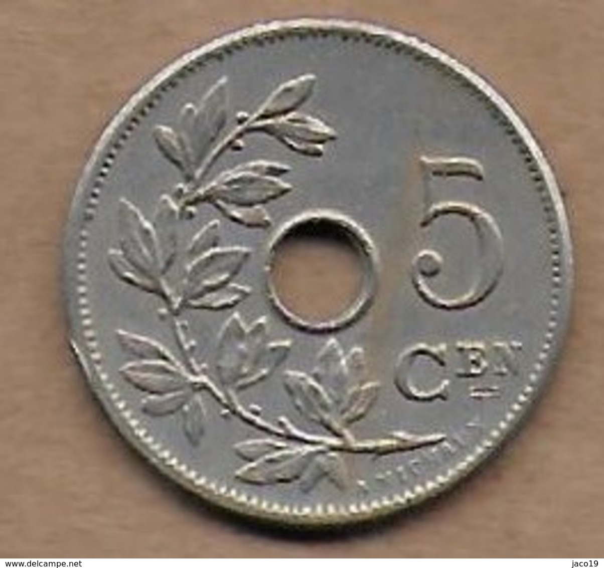 5 Centimes 1905 FL - 1865-1909: Leopold II