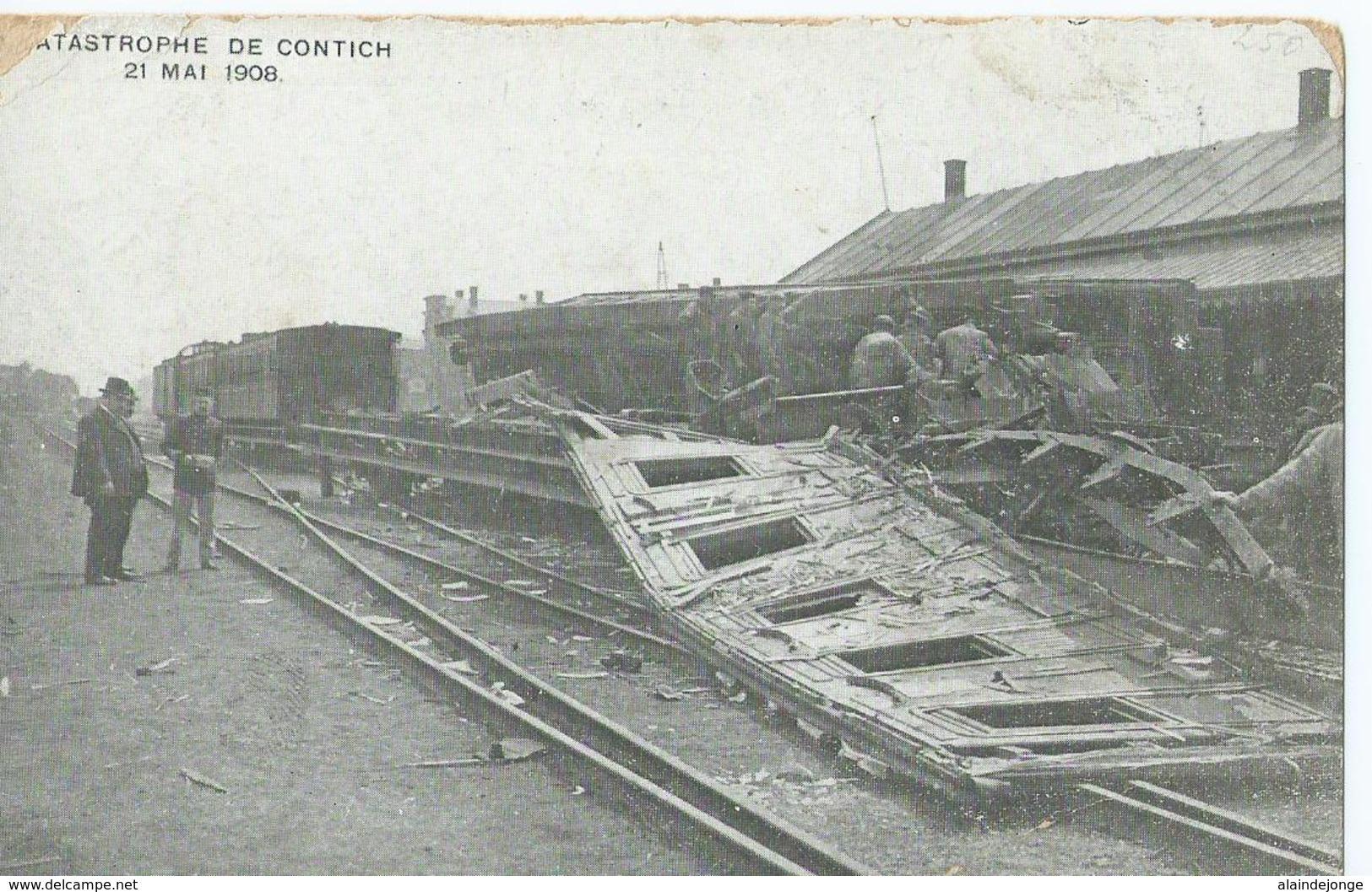 Kontich - Contich - Catastrophe De Contich 21 Mai 1908 - EDN - Kontich