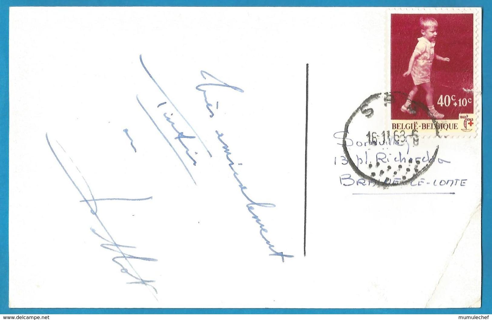 (A953a) - Signature / Dédicace / Autographe Original - Jean-Pierre TALBOT - Acteur TINTIN Dans Les Films - Autographes