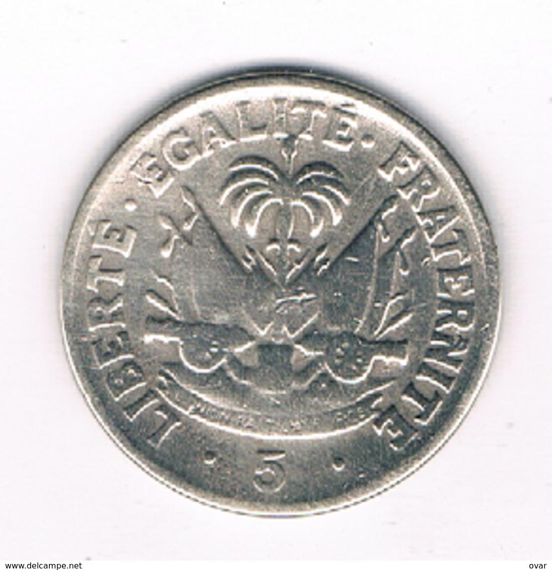 5 CENTIMES 1958 HAITI /0137/ - Haïti