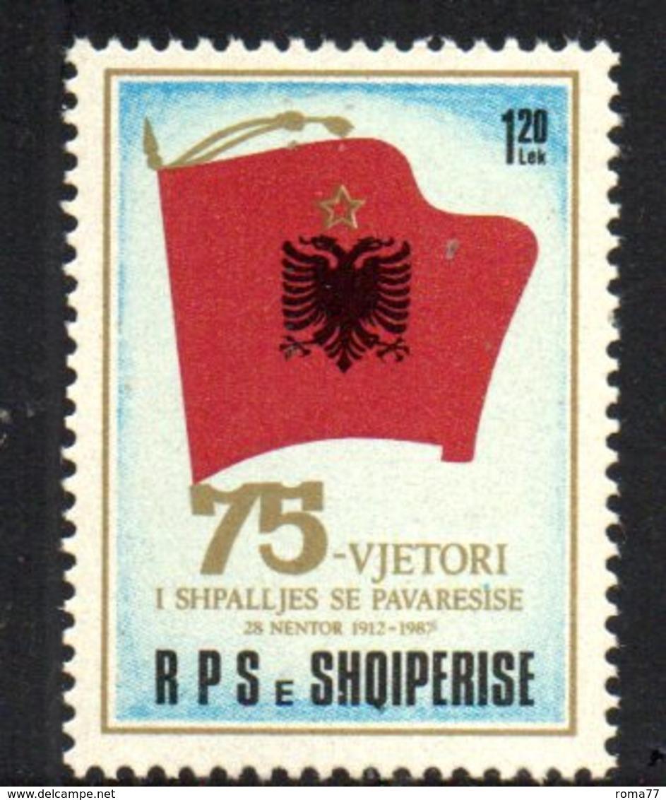 XP4020 - ALBANIA 1987 , Yvert Serie N. 2156  ***  Indipendenza - Albania