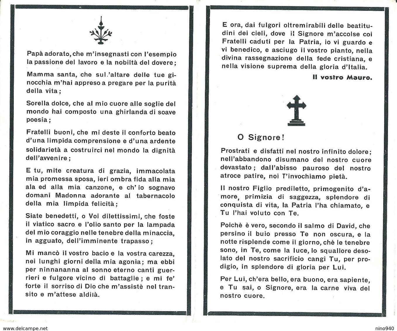 LUTTINO MILITARE - MAURO GAVAZZENI -  Mm. 72 X 118 - Africa Orientale - 5 Febbraio 1936 - Religione & Esoterismo