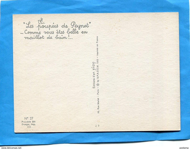 """PEYNET-""""lespoupées De Peynet"""" Comme Vous êtes Belle En Maillot De Bain- Animée Années 60 édition YVON - Peynet"""