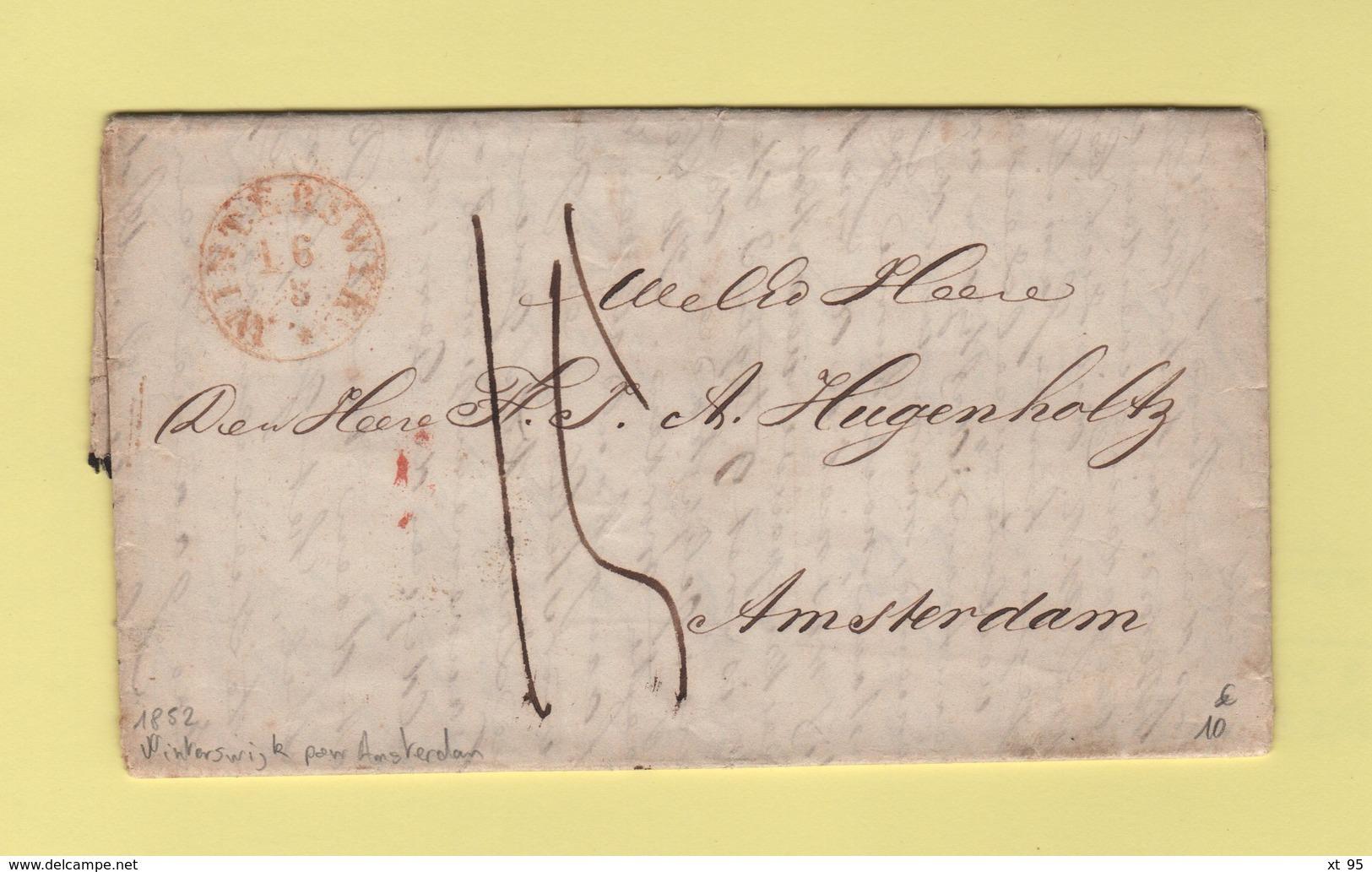 Pays Bas - Winterswijk Destination Amsterdam - 1852 - Pays-Bas