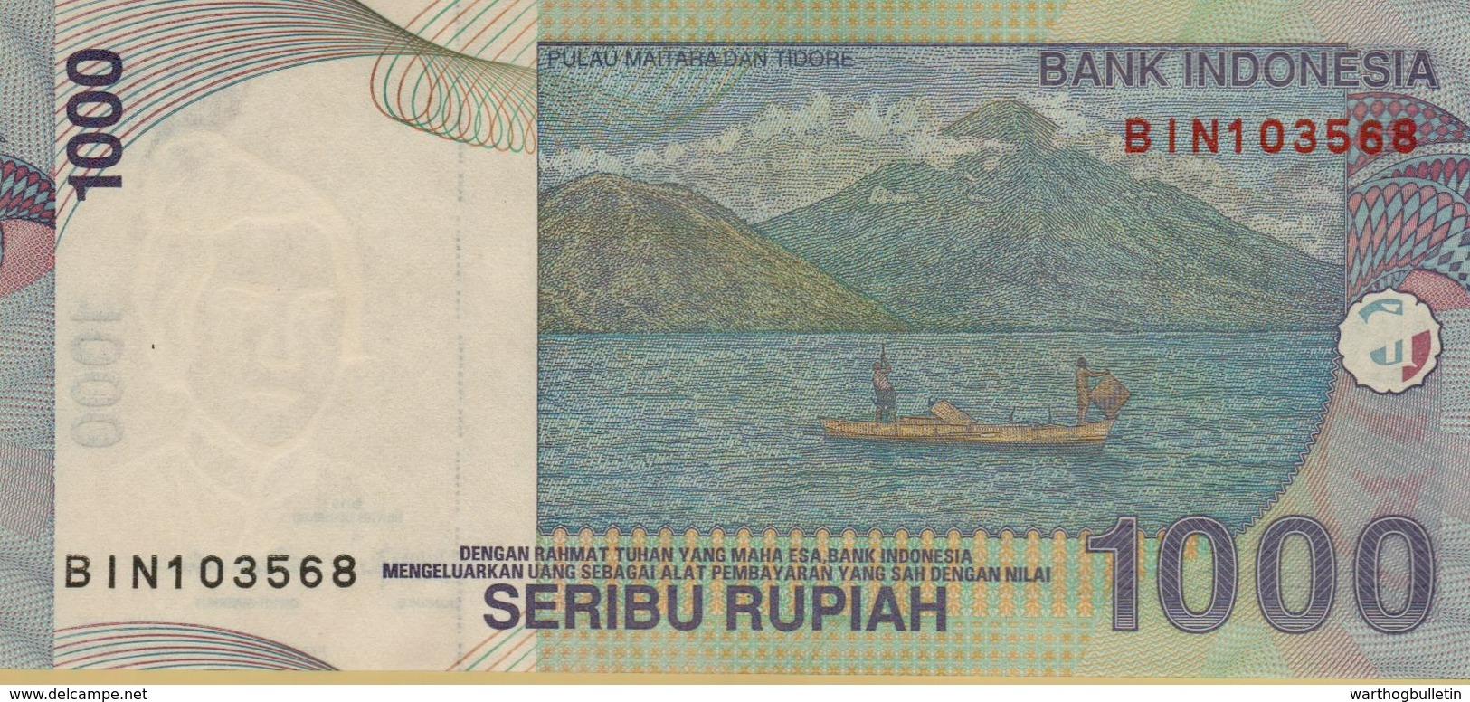 2013 Indonesia 1000 Rupiah Banknote P#141 - Indonésie
