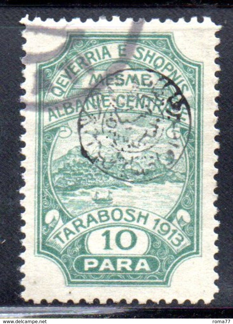 XP4050 - ALBANIA  CENTRALE , 10 Para Usato - Albania