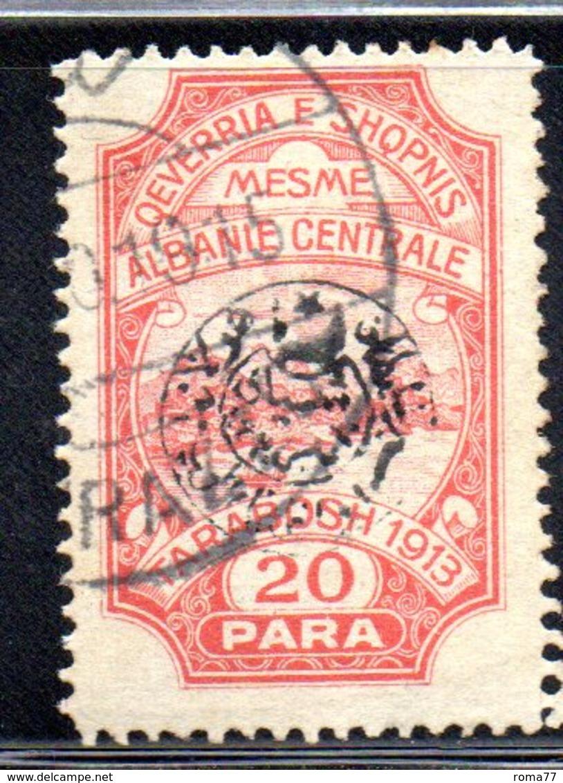 XP4053 - ALBANIA  CENTRALE , 20 Para Usato - Albania
