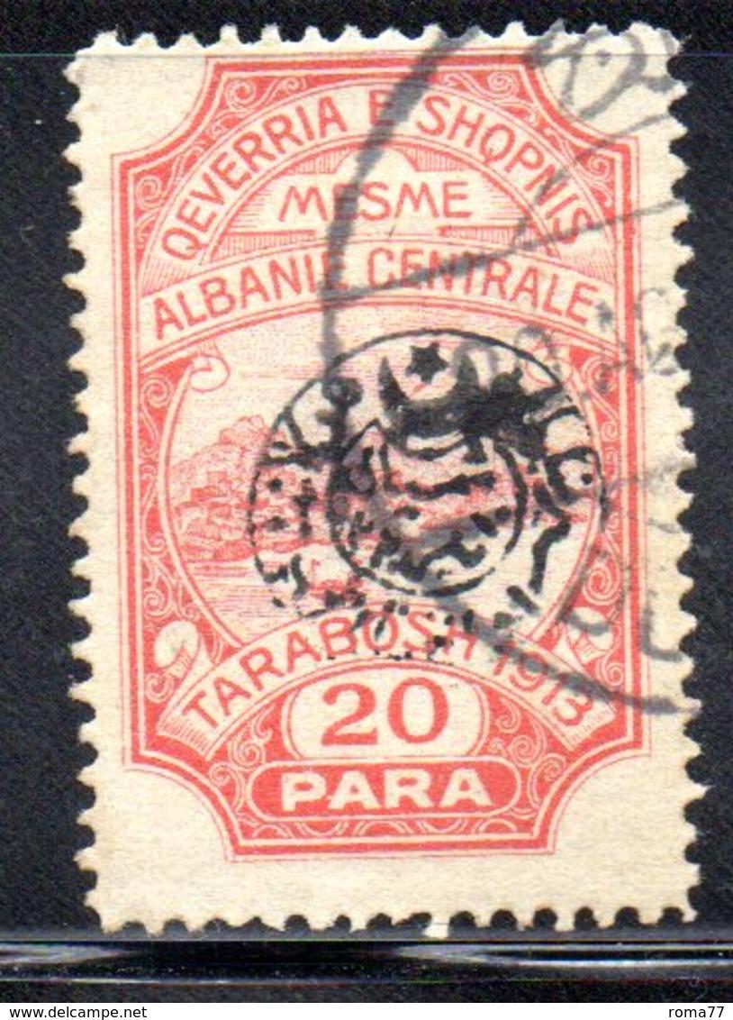 XP4054 - ALBANIA  CENTRALE , 20 Para Usato - Albania