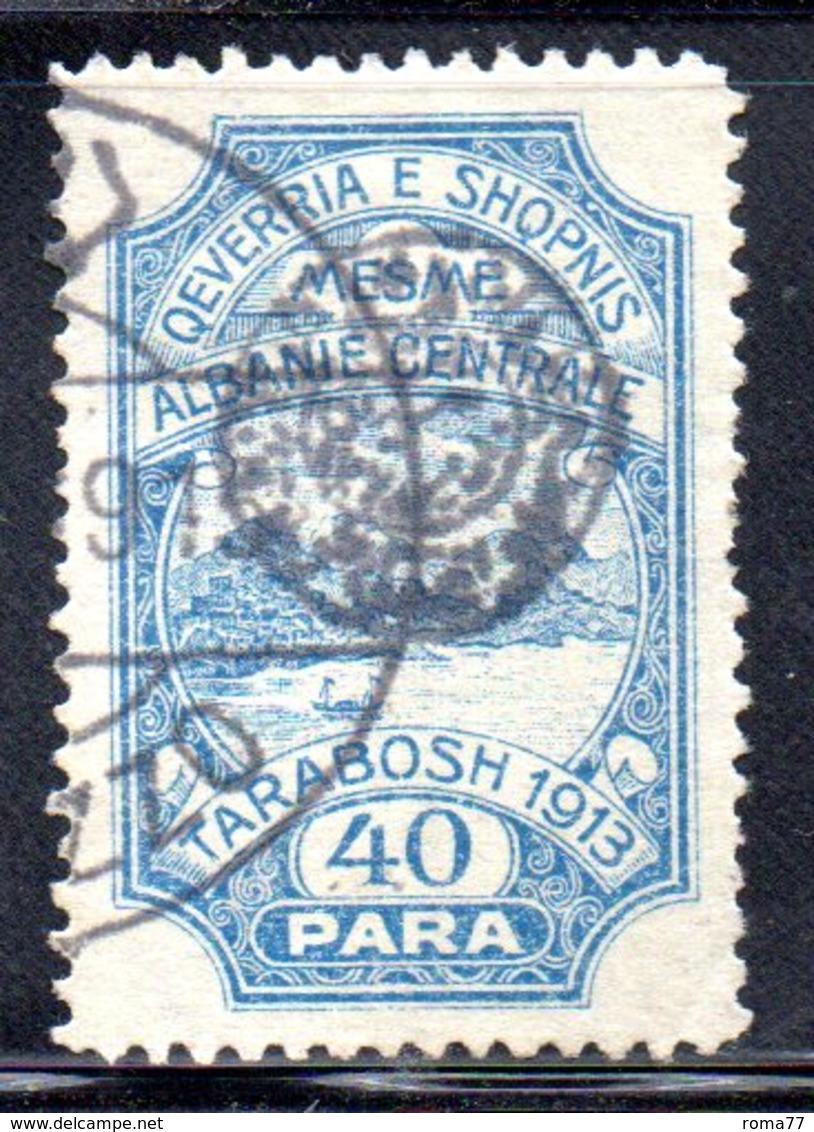 XP4055 - ALBANIA  CENTRALE , 40 Para Usato - Albania