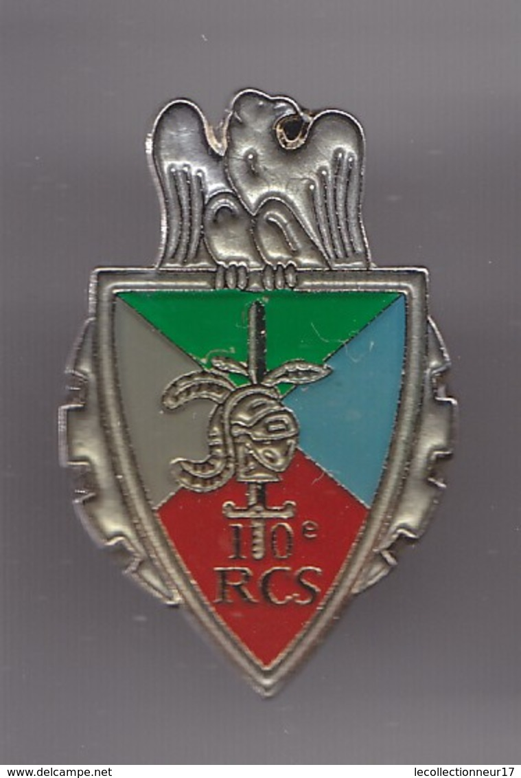 Pin's  Armées 10è RCS à Chalons En Champagne Réf  6648 - Militaria