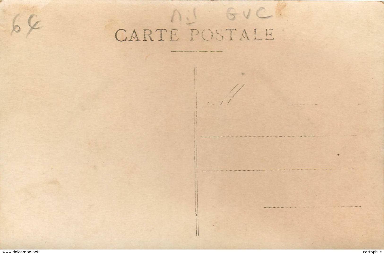 Militaria - Carte Photo De Soldats GVC Du 66e RI - Garde Voie De Communication - Non Situé - War 1914-18