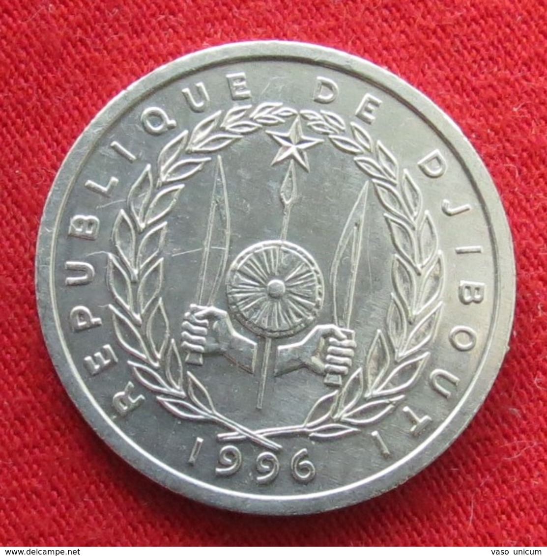 Djibouti 1 Franc 1996 Djibuti Unc - Djibouti