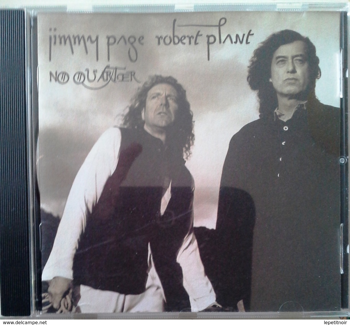 CD Jimmy Page Robert Plant No Quarter - Other - English Music