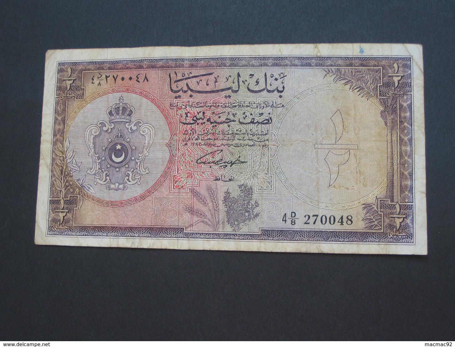 1/4 De Pound 1963  - LIBYE -  **** EN ACHAT IMMEDIAT ****  Billet Assez Rare !!! - Libye