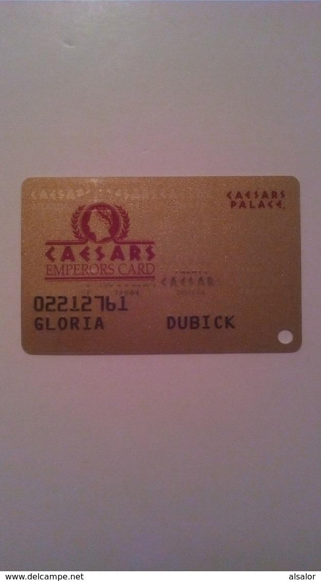 Carte De Casino Caesars Emperors Card - Casinokarten