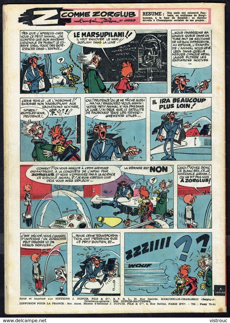 """SPIROU N° 1129 -  Année 1959 - Couverture """" LUCKY LUKE """" De MORRIS. - Spirou Magazine"""
