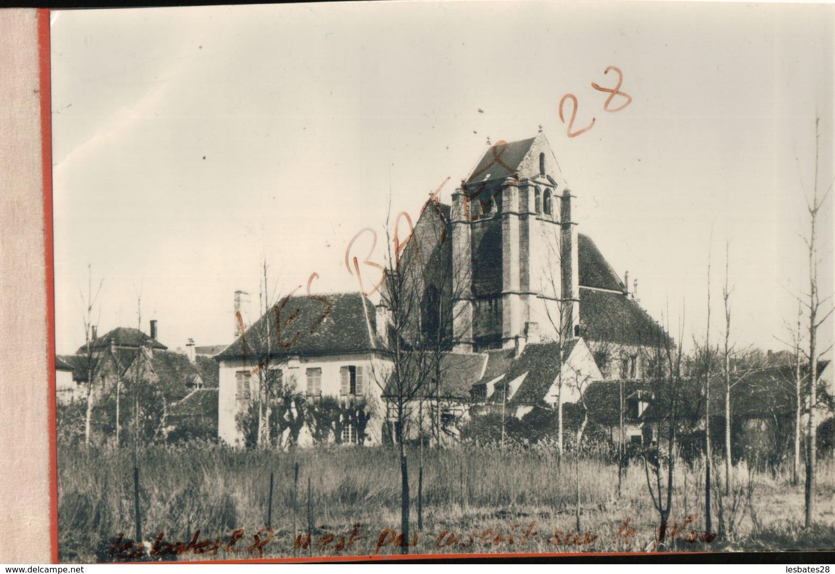 CPSM  61  LOISE LE MANOIR (arrière Plan L'Eglise)   Jan 2019 690 - France