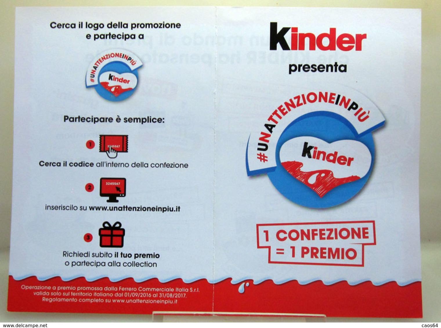 KINDER DEPLIANT - Kinder & Diddl