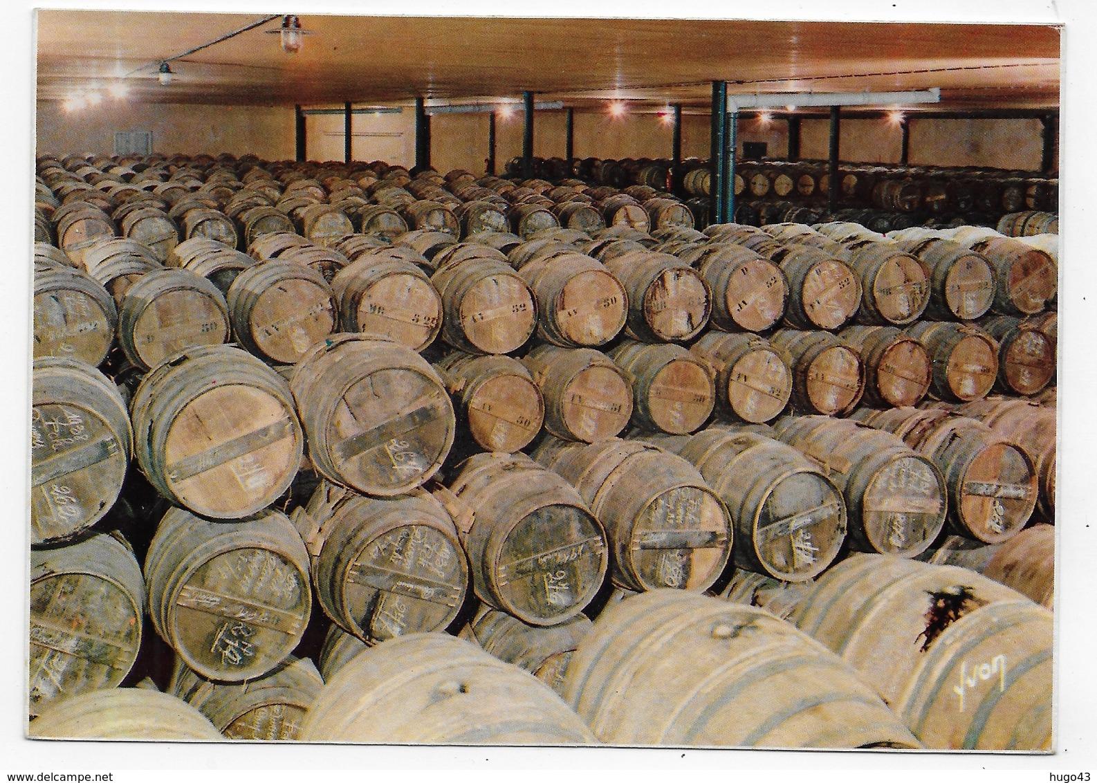 (RECTO / VERSO) COGNAC - N° 4 - COGNAC HENNESSY - UN CHAI DE RESERVE - CPSM GF NON VOYAGEE - Cognac