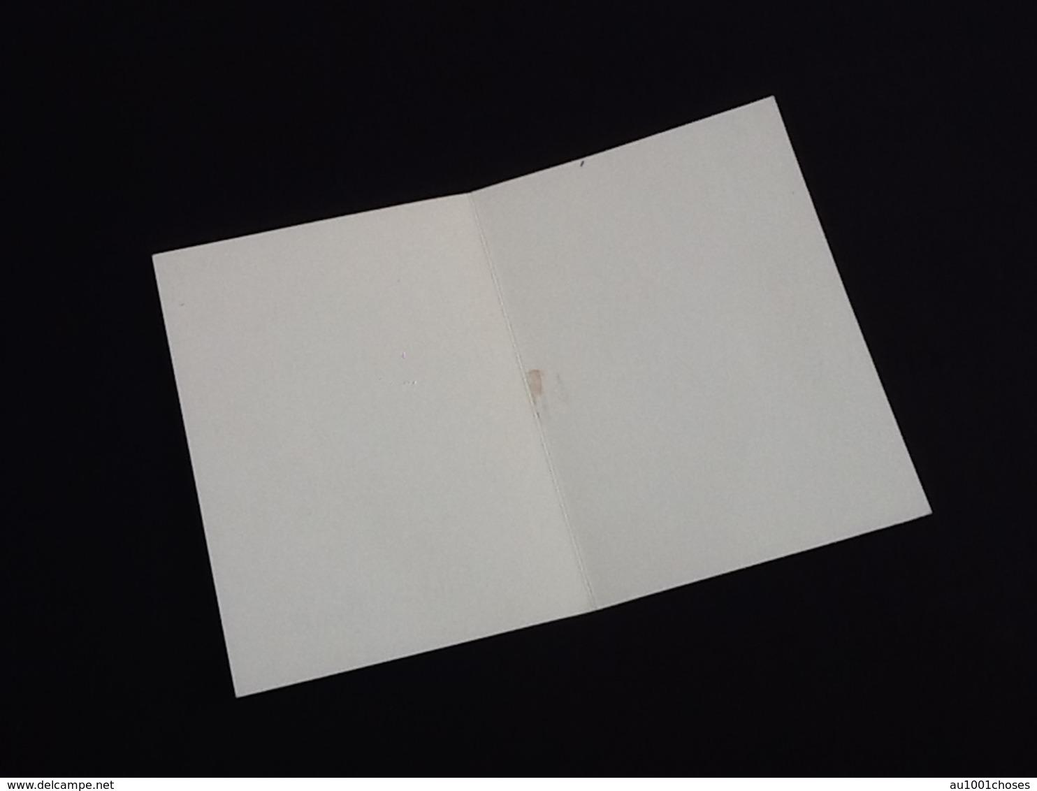Mignonette Carte Meilleurs Voeux   (80X110)mm - Anno Nuovo