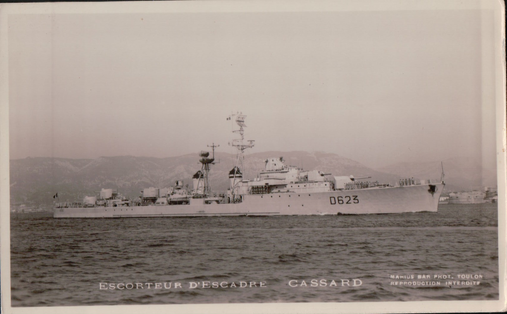 5700A   CASSARD   NON ECRITE - Guerre