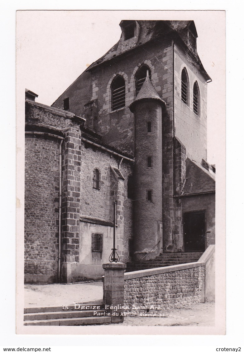 58 Decize N°15 L'Eglise Saint St Aré Partie Du XVème - Decize