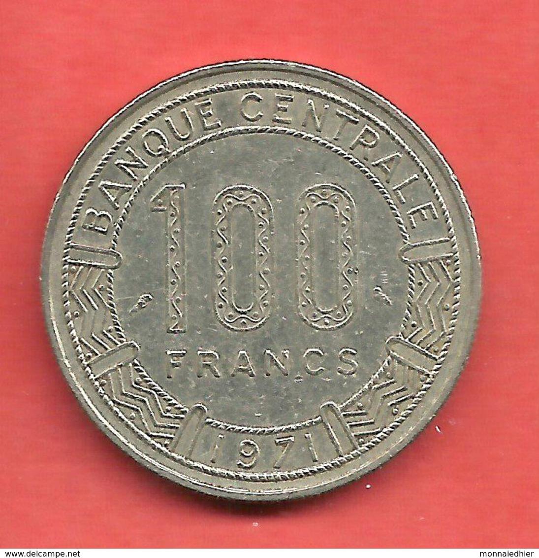 100 Francs , CONGO , Nickel , 1971 , N° KM # 1 - Kongo (Dem. Republik 1998)