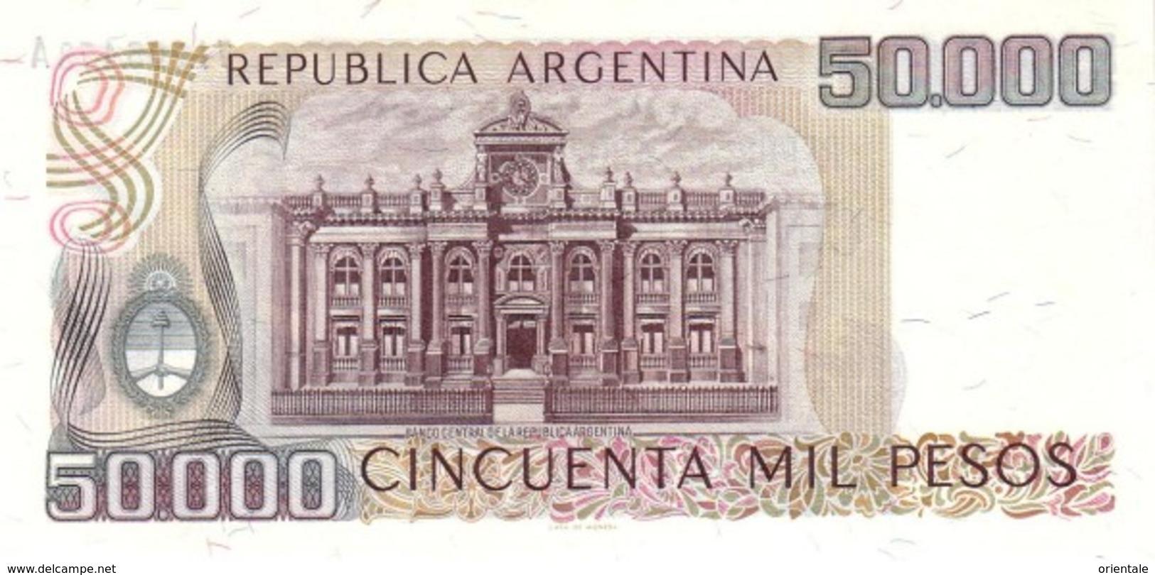 ARGENTINA P. 307 50000 P 1979 UNC - Argentine
