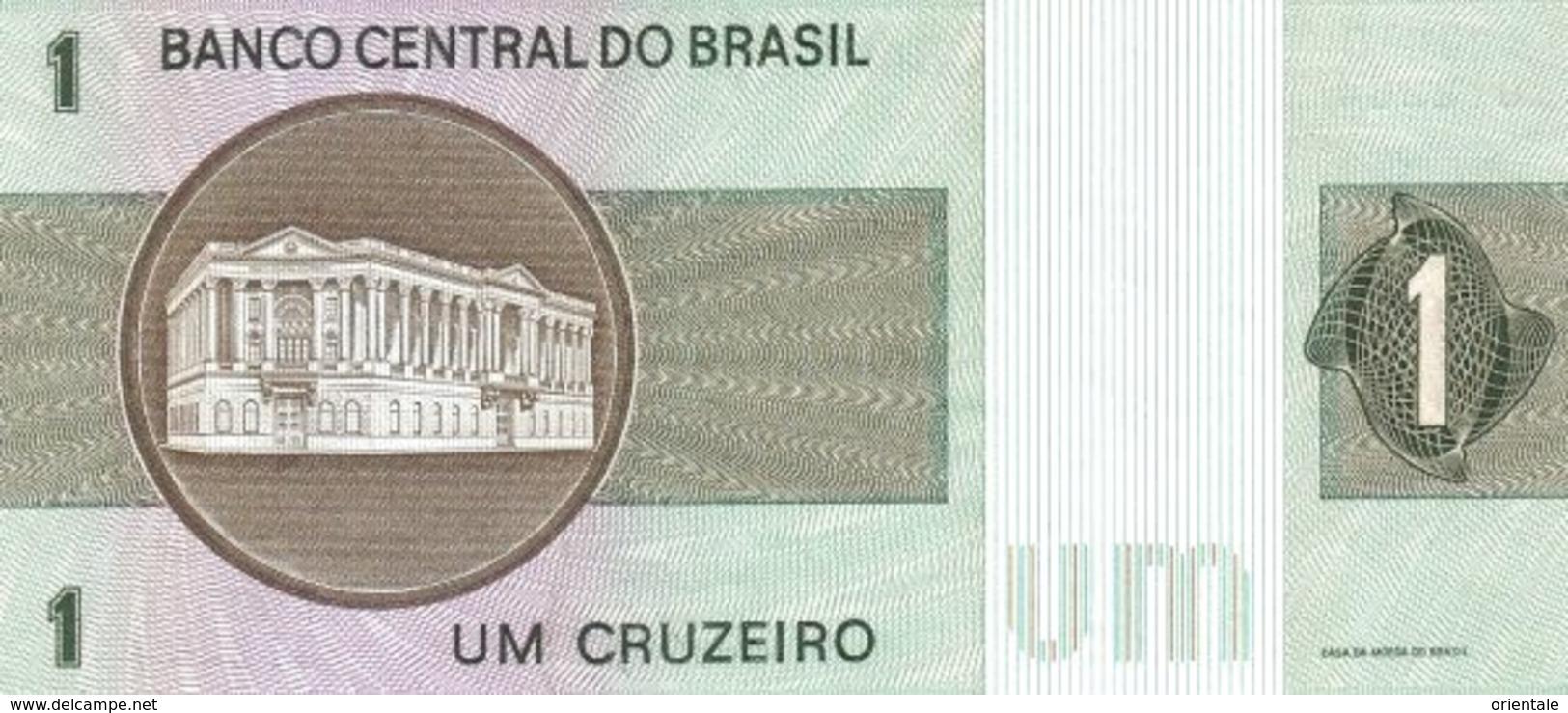 BRAZIL P. 191Ac 1 C 1980 UNC - Brésil