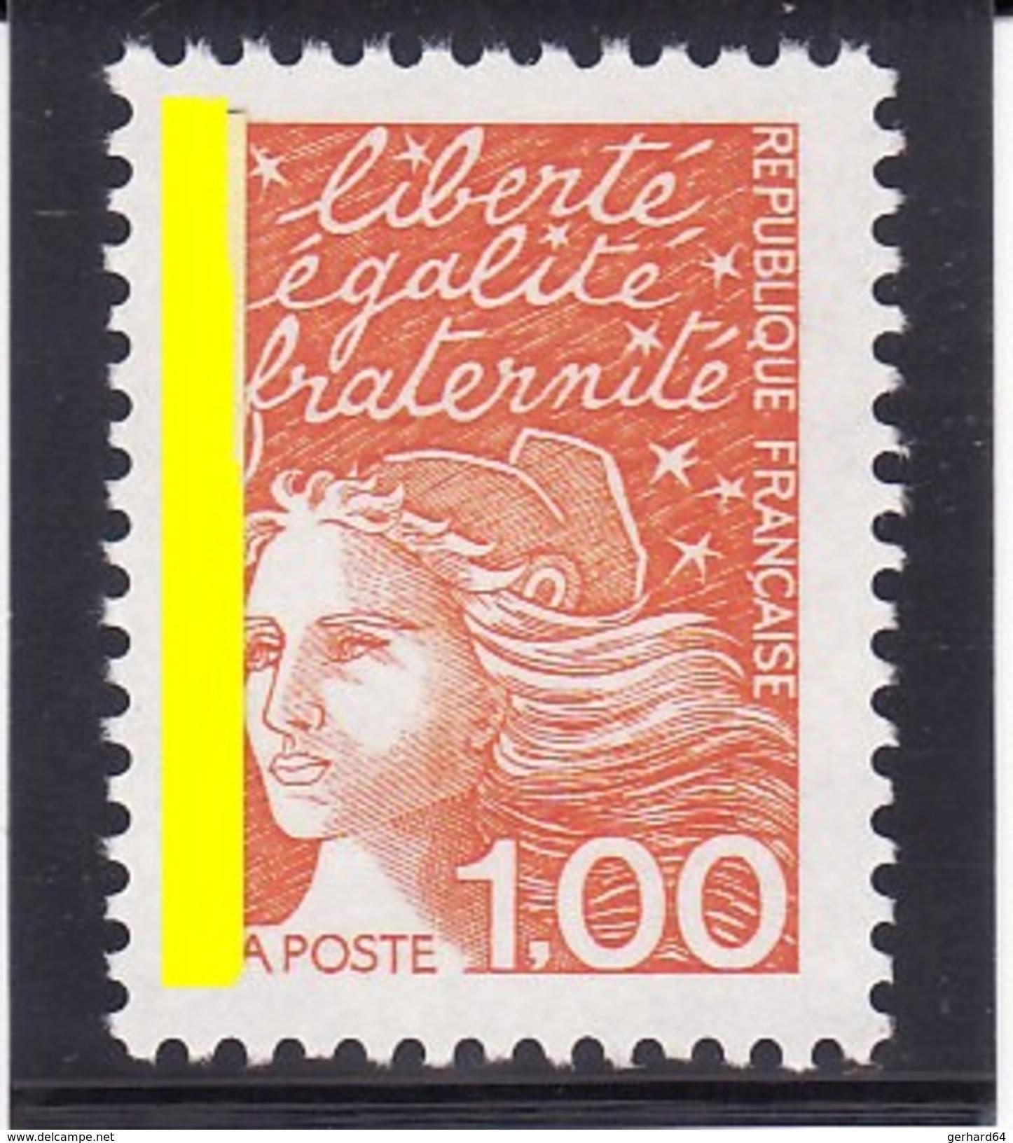 France 1997 - N° 3089 - Bande Phosphore à Gauche - Neuf** - 1er Choix - 1997-04 Marianne Of July 14th