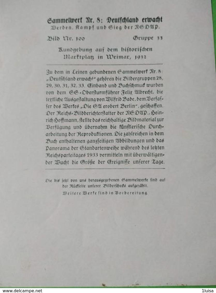 GERMANIA  ALLEMAGNE  GERMANY  Discorso Di Hitler Rundgebung NAZISMO PROPAGANDA - Guerra 1939-45