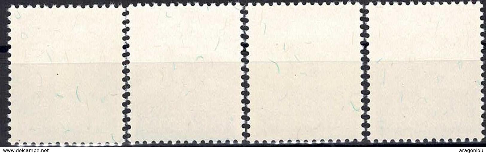 1952 Série Caritas Jean-Baptiste Frezez 4 Timbres Neuf, Michel 2019: 501-504  2Scans Valeur Cat.36€ - Luxembourg