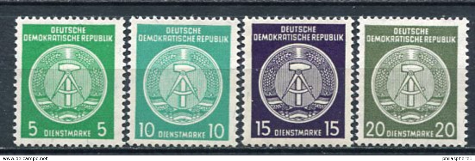 DDR Dienst Nr. 34/7 B          ** Mint       (22270) - Official