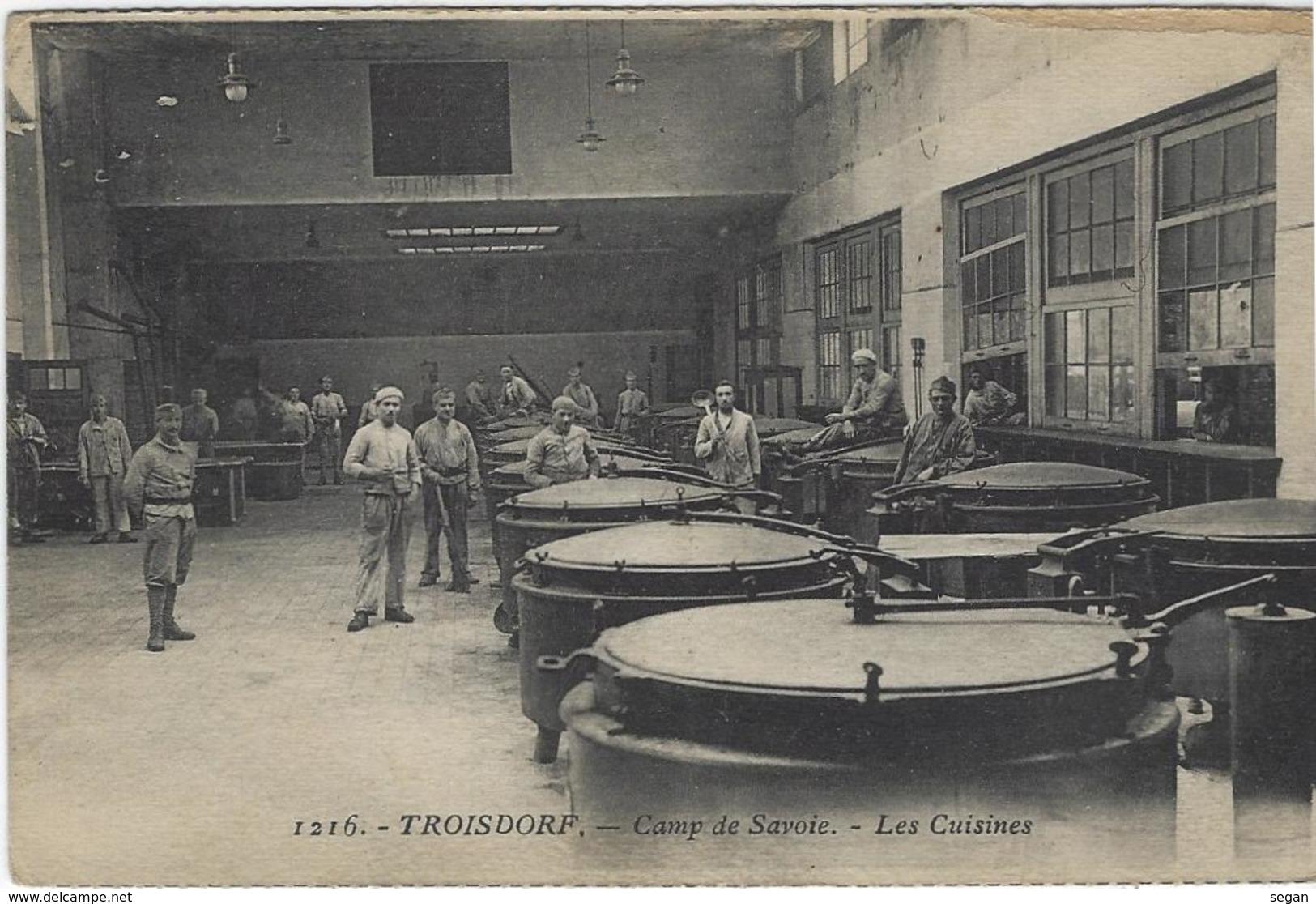 TROISDORF    CAMP DE SAVOIE   LES CUISINES - Troisdorf