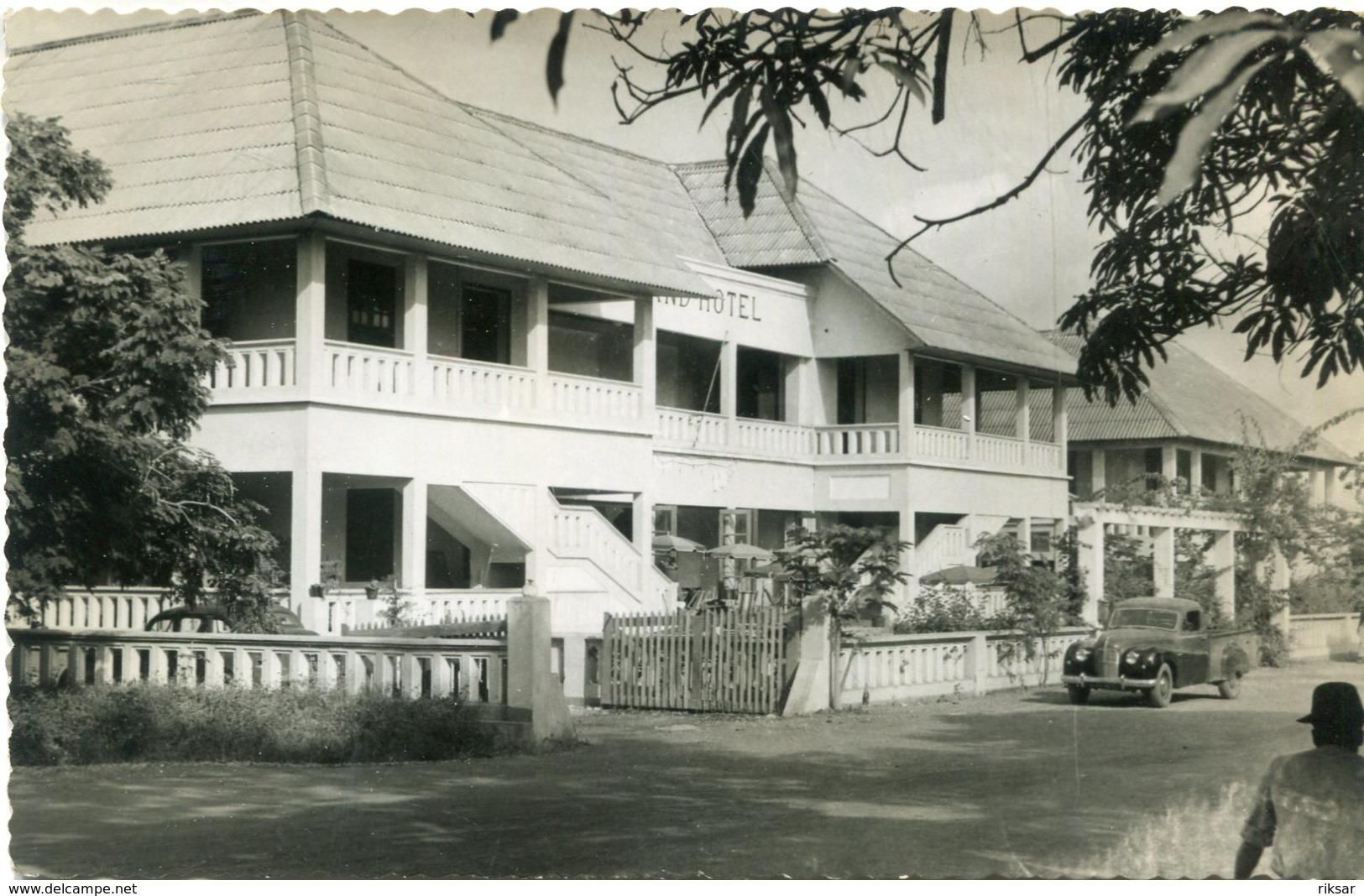 CONGO(DOLISIE) HOTEL - Congo - Brazzaville