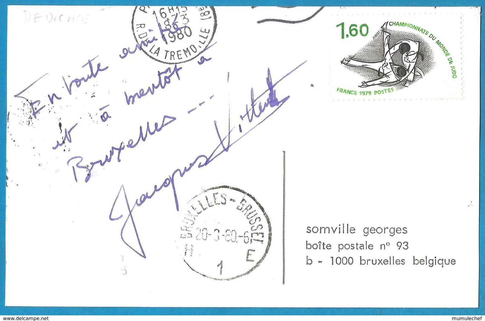(A986) - Signature / Dédicace / Autographe Original - Jacques VILLERET - Autographes