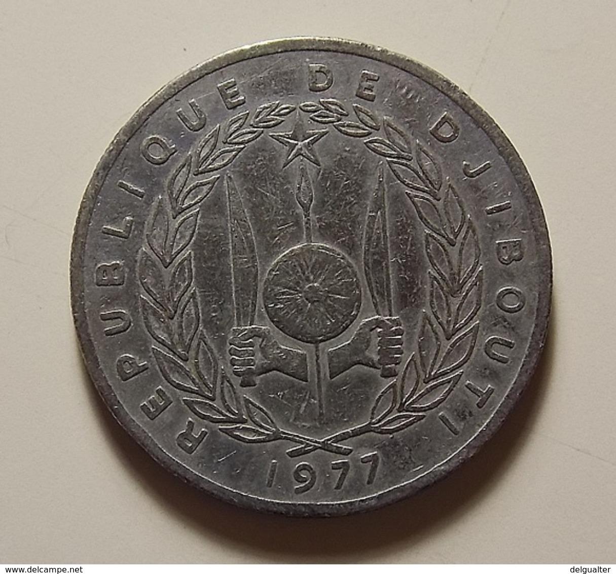 Djibouti 50 Francs 1977 - Djibouti