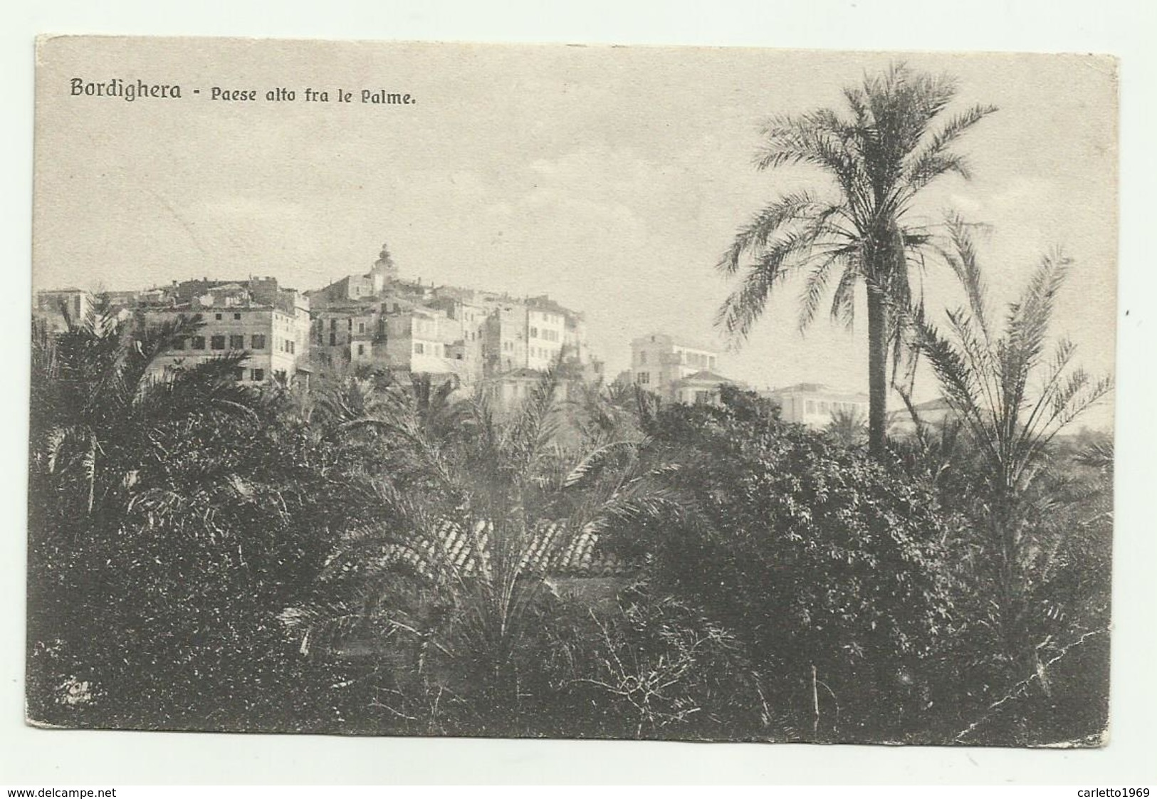 BORDIGHERA - PAESE ALTO FRA LE PALME - NV  FP - Imperia