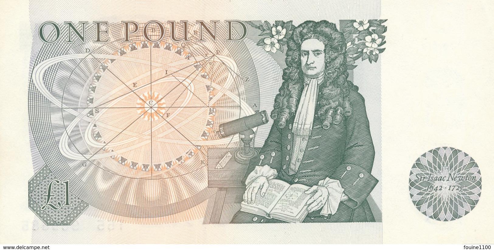 Billet  De Banque  Bank Of England  1 Pound - 1952-… : Elizabeth II