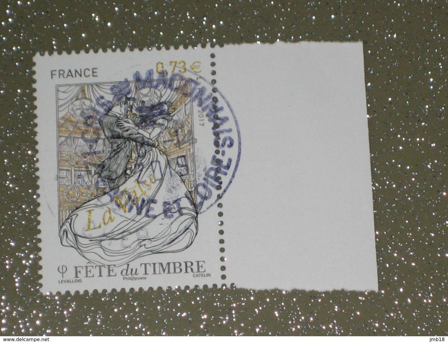 FETE DU TIMBRE   2018 OBLITERE  SUPERBE CACHET ROND - France