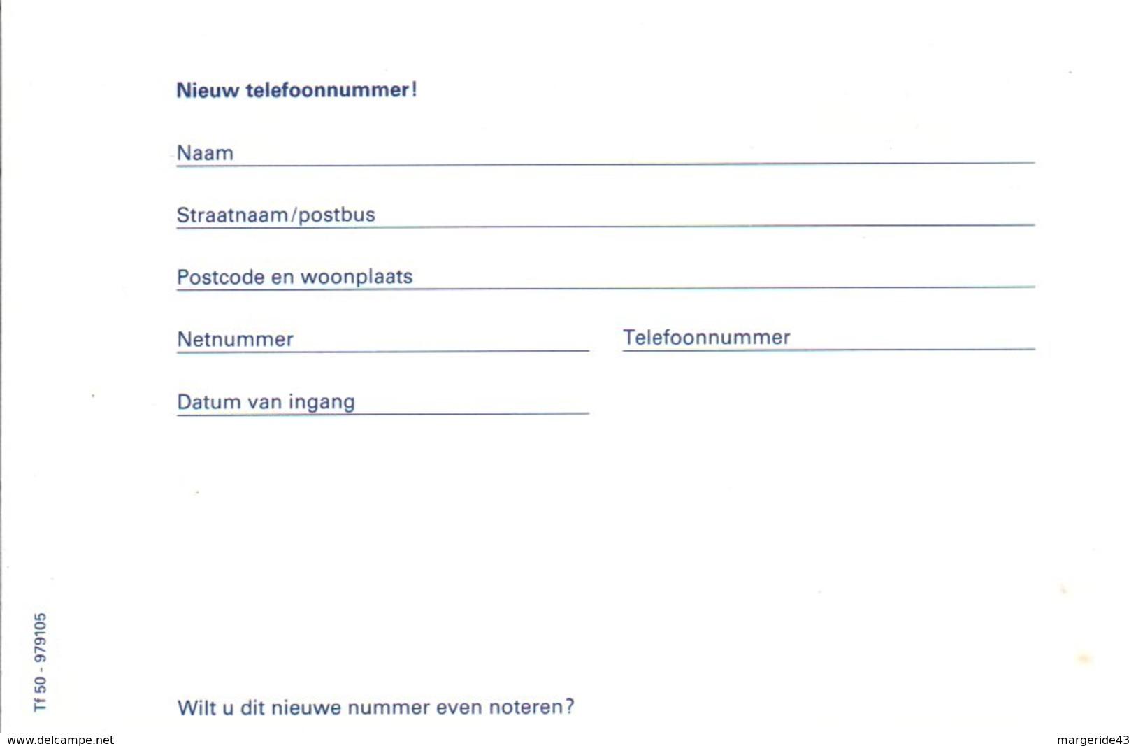 PAYS BAS ENTIER NEUF 60 C - Postal Stationery