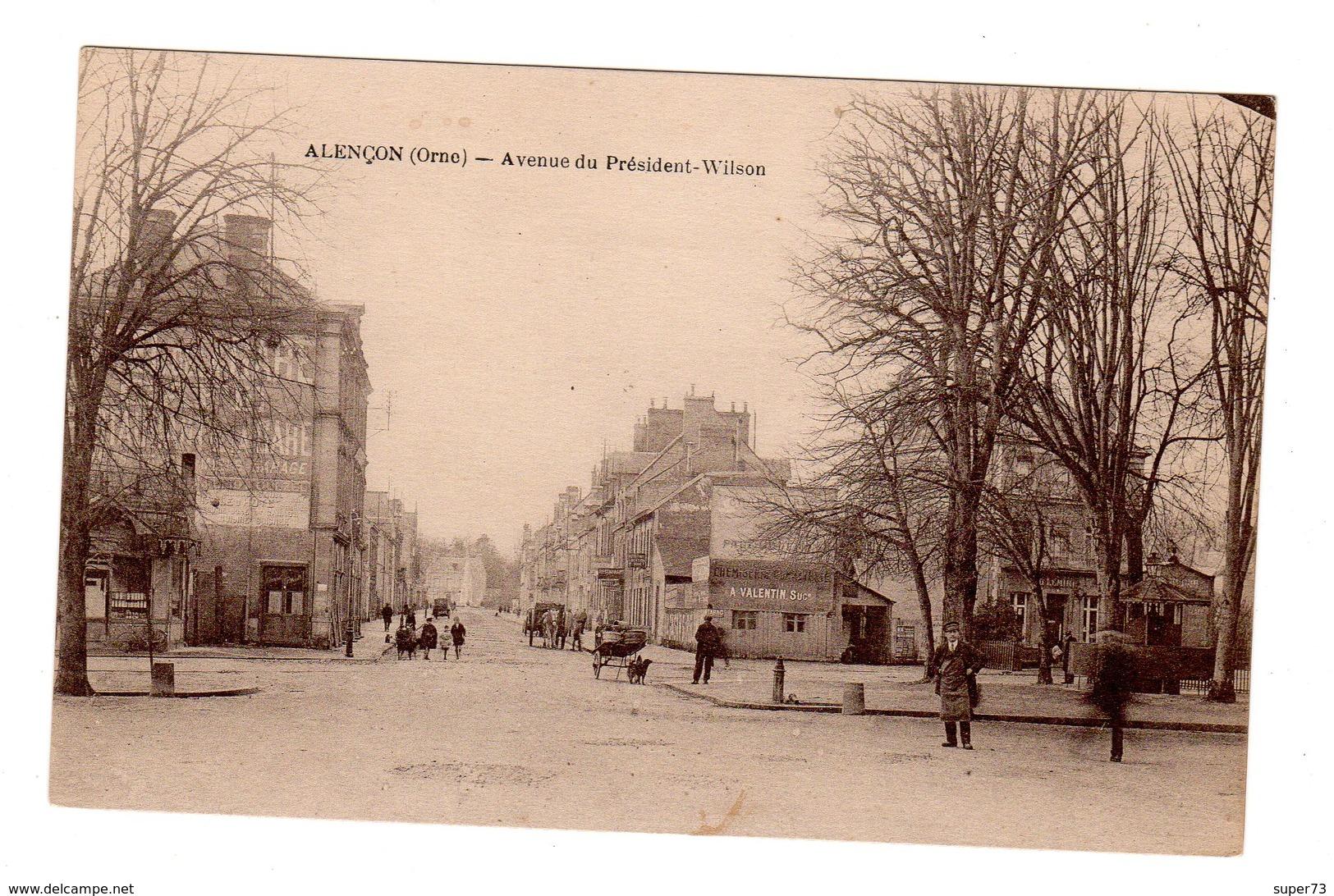 CPA 61 - Alençon - Avenue Du President Wilson - Alencon