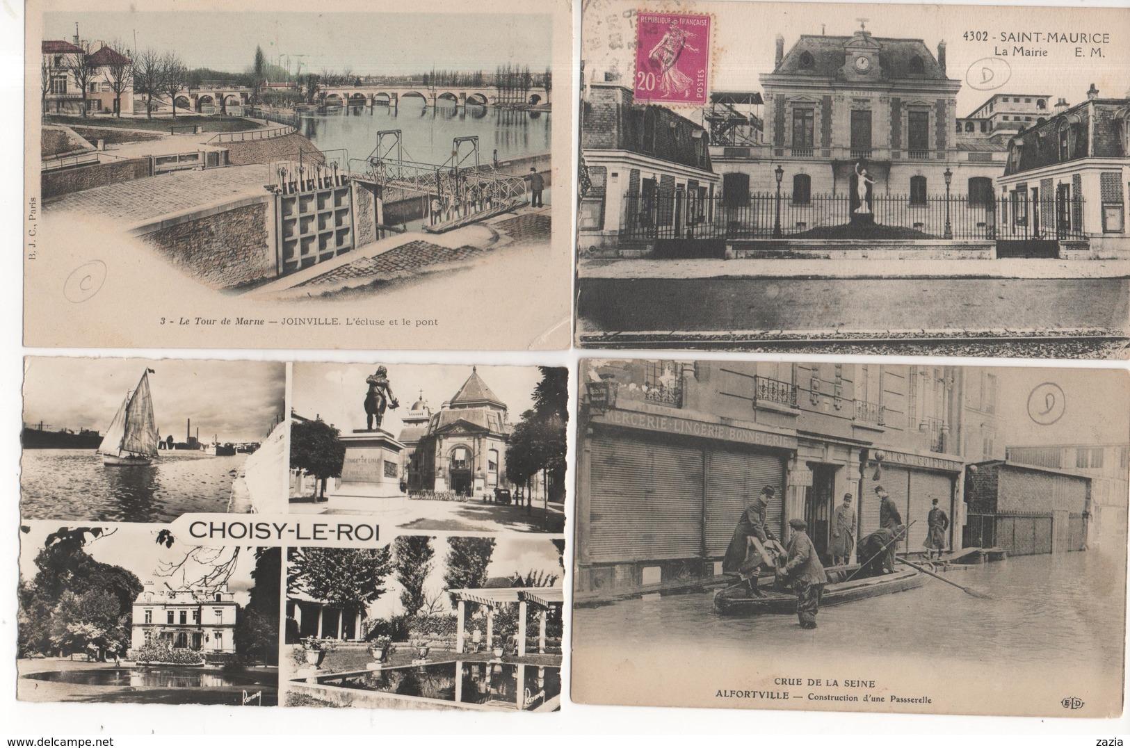 LD94 / Lot D'environ 550 Cpa,cpsm Et Cpm Du VAL DE MARNE ( Voir Déscriptif) - Cartes Postales